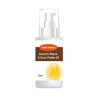 Fade Away Stretch Mark & Scar Fade Oil – Max Strength Stop Signs Of Stretchy's