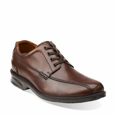 3973ecbba2d9b6 Clarks COLSON OVER Men s Casual Comfort Oxford Shoes Brown Leather 68037