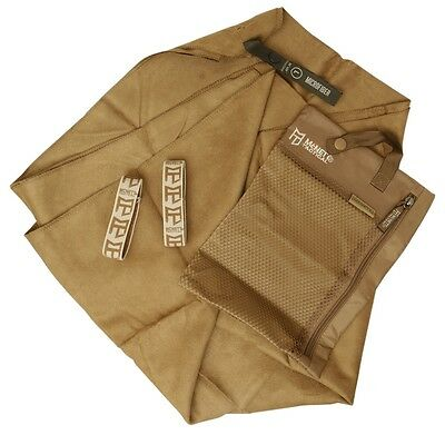McNett Tactical Compact Microfiber Absorbent and Fast Drying Towel Coyote Large