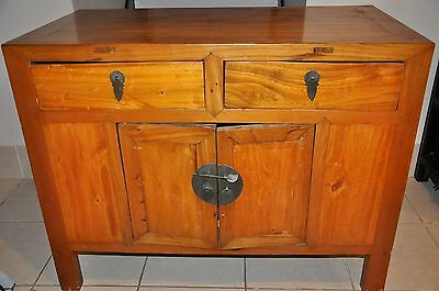Fine Antique Chinese Wood Cabinet