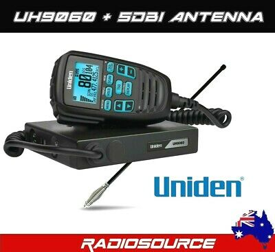 Uniden At470  6.5Dbi Uhf Cb Radio Antenna + Bonus Z Bracket Included ** New**