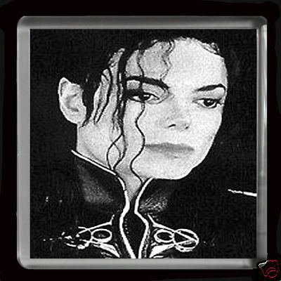 King Of Pop Michael Jackson   Large Fridge Magnet