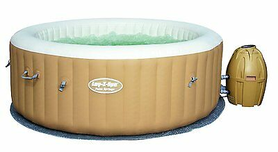 Lay-Z-Spa Palm Springs Inflatable Luxury Portable Hot Tub Spa (4-6 Persons)