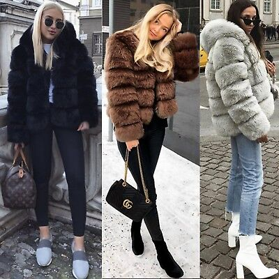Women Real Fur Ostrich Feather Soft Fur Coat Jacket Fluffy CB Winter Xmax Balmai