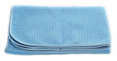 "Big Blue 25""x36"" Waffle Weave Korean Microfiber Deluxe Drying Detail Towel Auto"