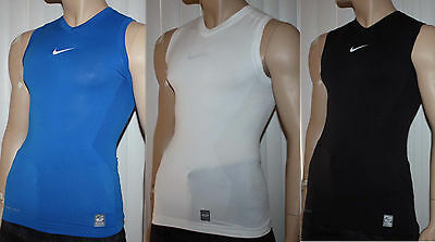 Nike Pro Combat Men's Hypercool Compression Sleeveless Shirt *Size/Color Choices