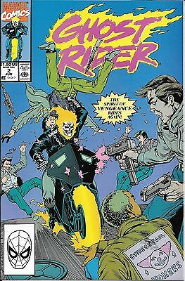 Ghost Rider # 2 NM- or better Marvel 2nd Appearance of Danny Ketch 1990