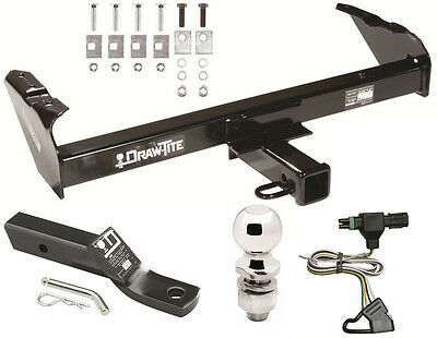 1985-1986 gmc c/k 1500 2500 3500 complete trailer hitch package w/