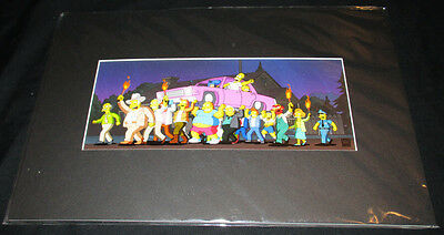 Simpsons Movie Promotional Limited Edition Pix Cel Gilcee Coa 20Th Century Fox