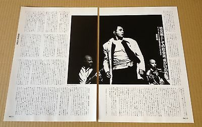 1994 Peter Gabriel Genesis 2p 1 photo JAPAN mag article / press clipping g06r