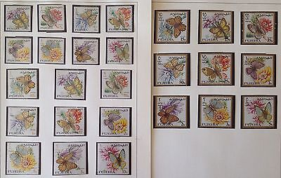 Fujeira  Lot Of 26 Stamps Mnh**