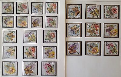 Fujeira  Lot Of 26 Stamps