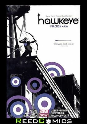 HAWKEYE BY MATT FRACTION AND DAVID AJA OMNIBUS HARDCOVER New Hardback