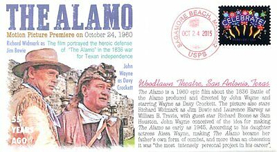 "COVERSCAPE computer designed 55th anniversary of premiere of ""The Alamo"" cover"