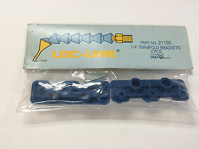 """Locline 21195 1/4"""" Manifold Brackets, Pack Of 2 Pieces, New"""