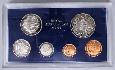 1980 Australia Royal Proof Coin Set. Very Low Mintage!