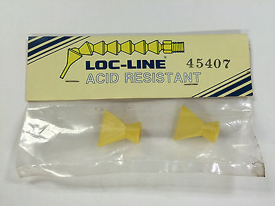 """Locline 45407  1/4"""" Acid Resistant 1"""" Flare Nozzles , Pack Of 2"""