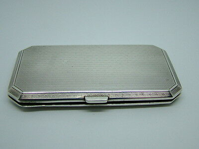 Sterling Silver Georgian Card Case - London 1926 George Stockwell