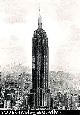Empire State Building Giant POSTER (140x90cm) New York City New Licensed Art