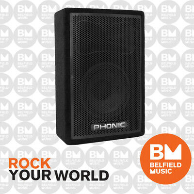 "Phonic aSK 10"" 2-Way 200w Passive Speaker Stage Floor Monitor ASK-10"