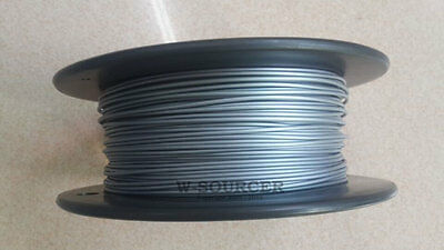 New Metallic Silver iLuck 1.75mm 0.5Kg 1.1lb PLA Filament For 3D Printer