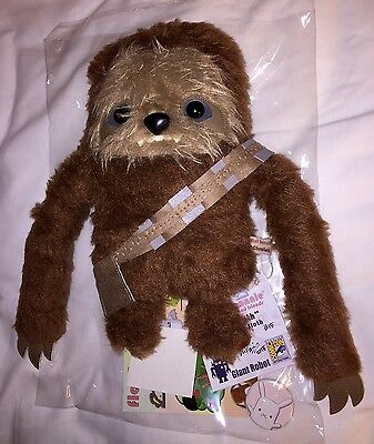 SDCC 2015 Flat Bonnie Exclusive Chewloth (Sloth Cosplay As Chewbacca) STAR WARS
