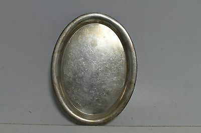 Antique Vintage Old German WMF Made Silver Plated Serving Tray