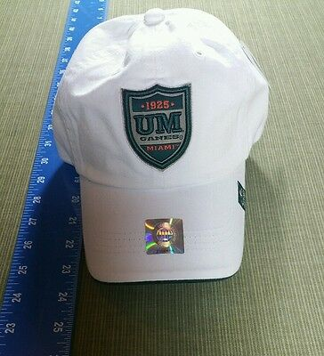 Brand new NCAA UNIVERSITY OF MIAMI HURRICANES HAT ADJUSTABLE