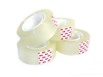 Clear Multipurpose Tape, 3/4 in x 100 feet (4Pack)