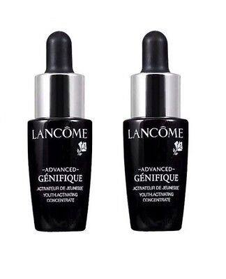 2 x Lancome Advanced Genifique Youth Activating Concentrate