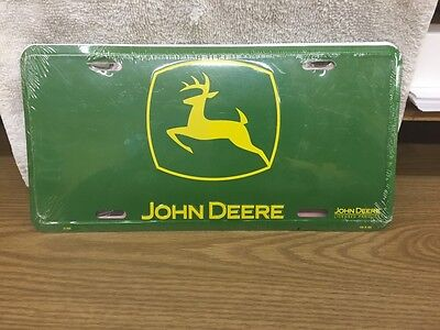 New  Metal John Deere License Plate