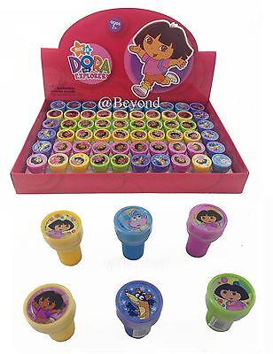 NEW Dora the Explorer Self Ink Stamps Birthday Party Favors Bag Filler Supplies~