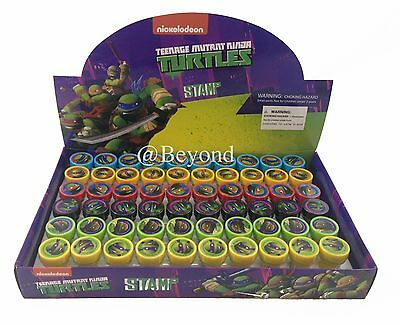Teenage Mutant Ninja Turtles Self Ink Stamps Birthday Party Favors Bag Filler~