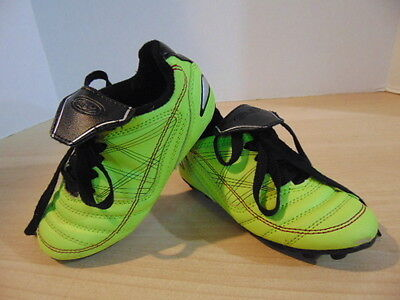 Soccer Shoes Cleats Childrens Size 10 Athletic Works Black Green