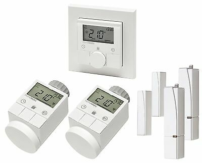 duramaxx htf r1 funk heizk rperthermostat set 2 4 ghz inkl ventil adaptern neu eur 264 95. Black Bedroom Furniture Sets. Home Design Ideas