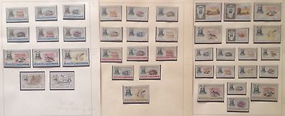 Aiman Animals Lot Of 41 Stamps  Mnh**