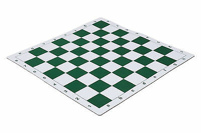"""Mouse Pad Style Tournament Chess Board - 2.25"""" Green"""