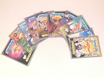 GPK GARBAGE PAIL KIDS 2012 BNS -1 ADAM BOMB THROUGH HISTORY silver 10 CARD SET