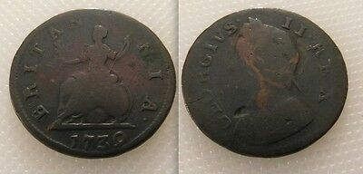 Collectable King George II - Farthing Coin Dates 1739