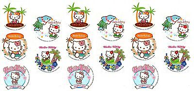 Sanrio HELLO KITTY HULA Paradise Island 15 Large Stickers