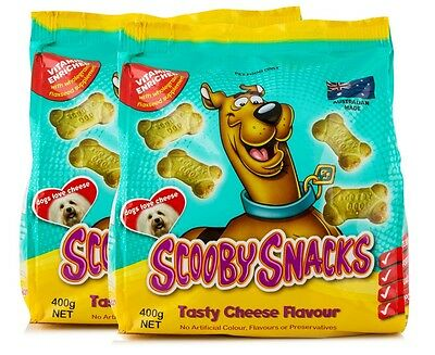 2 x Scooby Snacks Tasty Cheese 400g