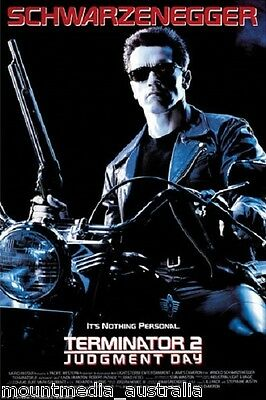 TERMINATOR 2 MOVIE POSTER (61x91cm) SCHWARZENEGGER NEW LICENSED ART