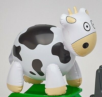 New Falk Toys Pedal Tractor Inflatable Farm Animals - Cow