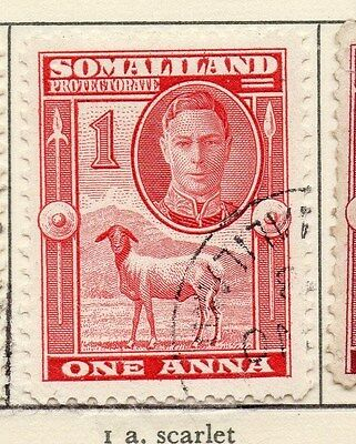 Somaliland Protectorate 1942 Early Issue Fine Used 1a. 028957