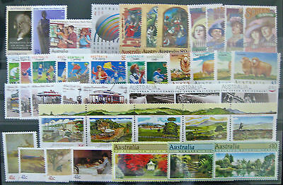 Full Year Collection of 1989 Australian Stamps
