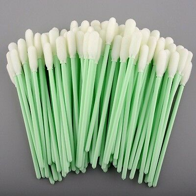 100 - Small Cleaning Foam Swabs For Inkjet Printers *USA SELLER* FAST SHIPPING
