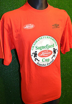 Sognefjord Umbro Sogndal Lerum Cup Norway Football Soccer Shirt (L) Jersey Top