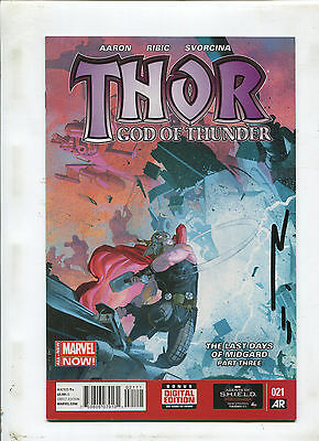 Thor God Of Thunder #21 (9.0 Or Better) Signed By Esad Ribic!