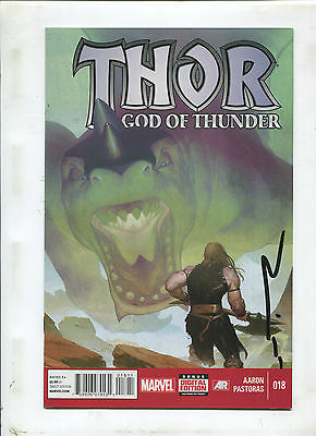 Thor God Of Thunder #18 (9.0 Or Better) Signed By Esad Ribic!