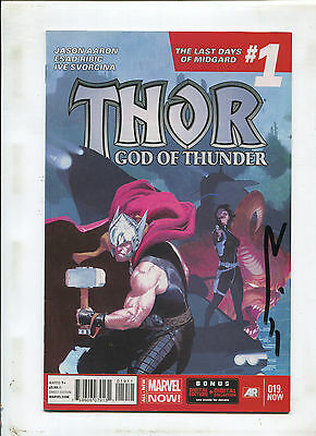 Thor God Of Thunder #19 (9.0 Or Better) Signed By Esad Ribic!